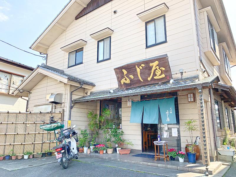 ふじ屋(和光市)のお店の外観