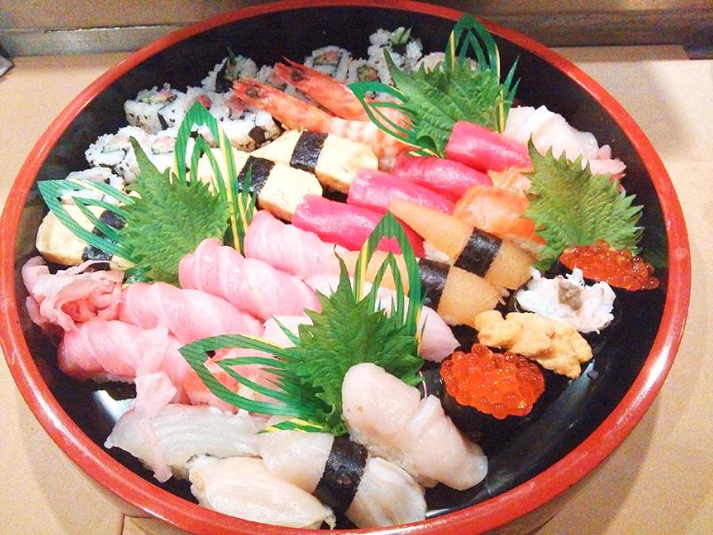 柳寿司(和光市)のテイクアウトできるお弁当
