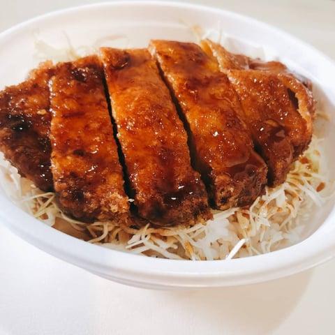 Tohoku food dining  あいづのテイクアウトソースカツ丼